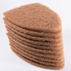scrub pads for every day cleaning and prep work.